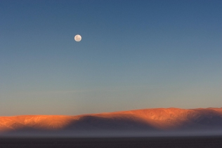 Moon Rise Over the Border, Argentina